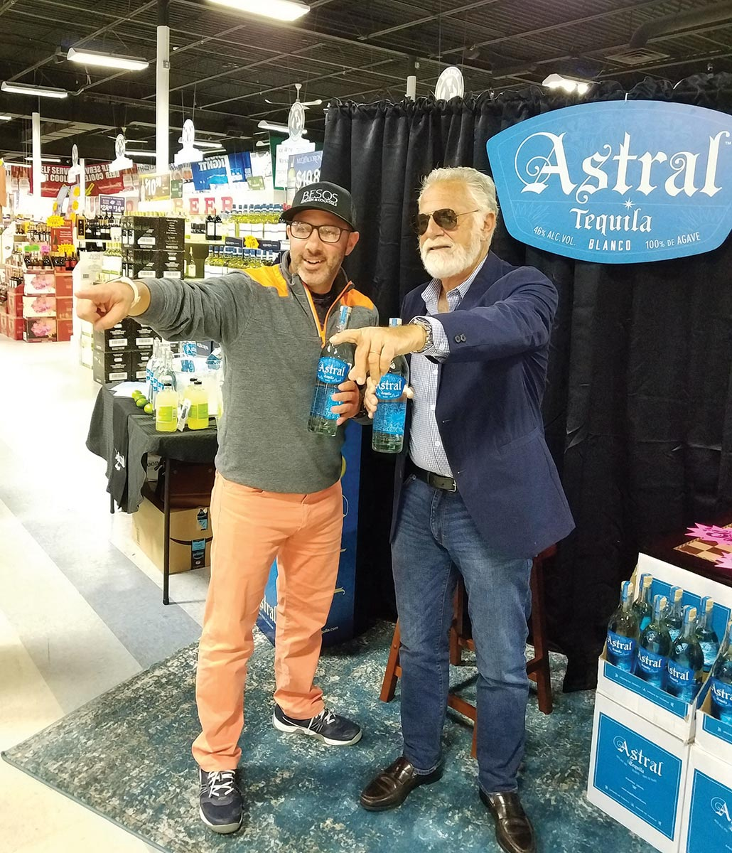 Astral Tequila Brings Most Interesting Visitor to the State