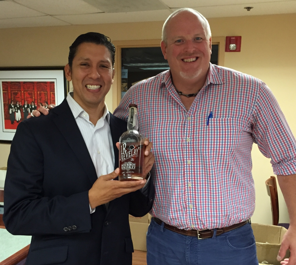 J.R. Revelry Bourbon Launches in the Nutmeg State