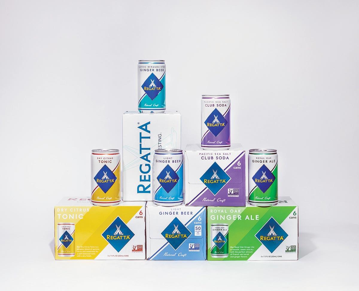 Regatta Craft Mixers Offers New Retail Packaging