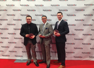 Michael Taberski, Nicholas Zamora and Peter Waite were selected for Nightclub & Bar's Student Fellows program.