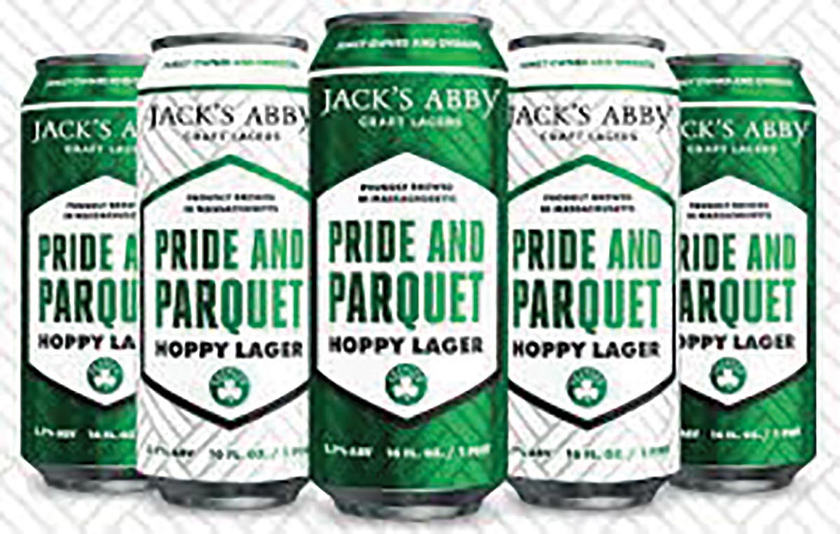 Pride and Parquet Hoppy Lager Celebrates the Celtics