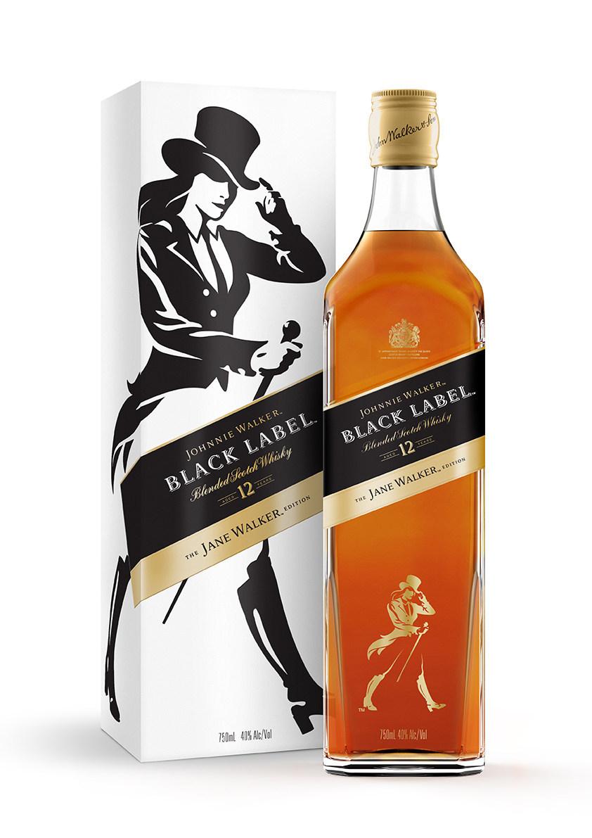 Johnnie Walker Launches Black Label Jane Walker Edition