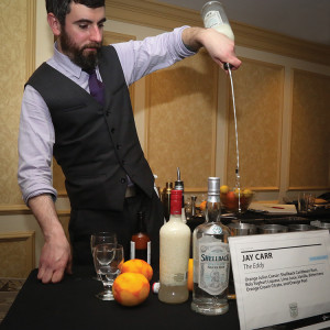 Rising Star Bartender Jay Carr from The Eddy in Providence. Photo by Chris Almeida.