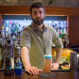 Jay Carr of The Eddy with The Bottle Rocket, which uses Bols Foam Liqueur.