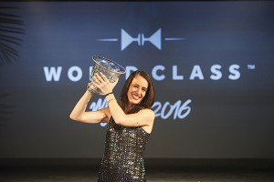 Jennifer Le Nechet is crowned World Class Bartender of the Year 2016 in Miami.