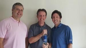 Waypoint Spirits partners John Taylor, Doug Bowie and David Rossi.