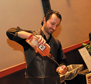 Pernod Ricard Mixologist of the Year winner John Tsipouras.