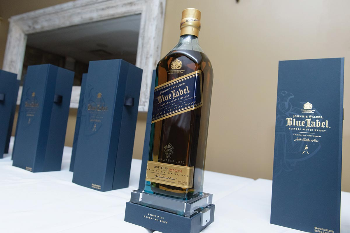 Diageo and Brescome Barton Celebrate Johnnie Walker Sales Efforts
