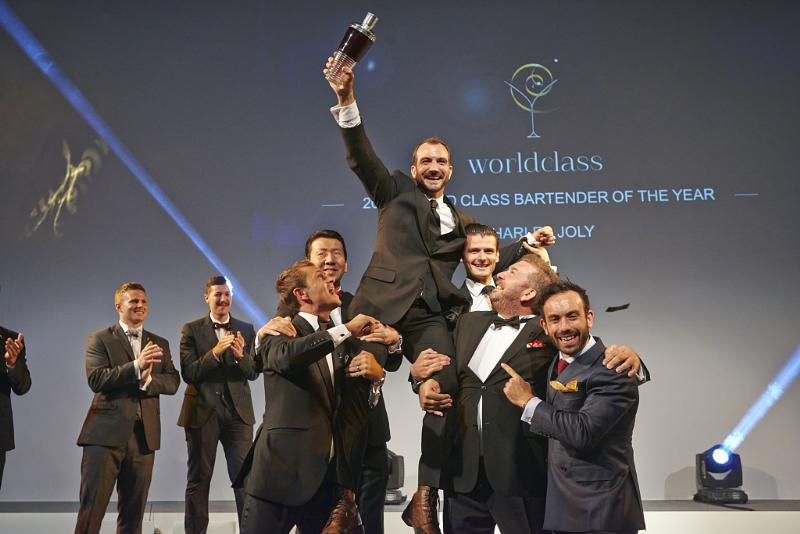 JOLY CROWNED DIAGEO RESERVE WORLD CLASS BARTENDER OF THE YEAR 2014