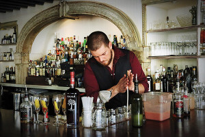 Joseph Haggard, The Grange bar manager and recent winner of the 2013 Providence Cocktail Week Cocktail Competition.