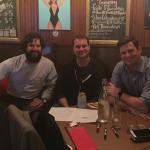 "Judging panel Chris Munk, Craft Spirit Manager, Eder Bros., Inc.; Paul Mazurek, USBG CT Treasurer; George ""Hutch"" Hutchinson, Redbreast/Pernod Ricard."