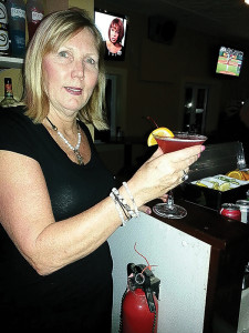 Bartender Patty Khokasian