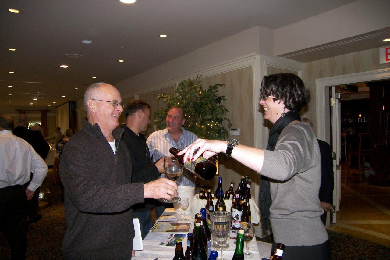 Brescome Barton Hosts Wine Tasting at Giovanni's