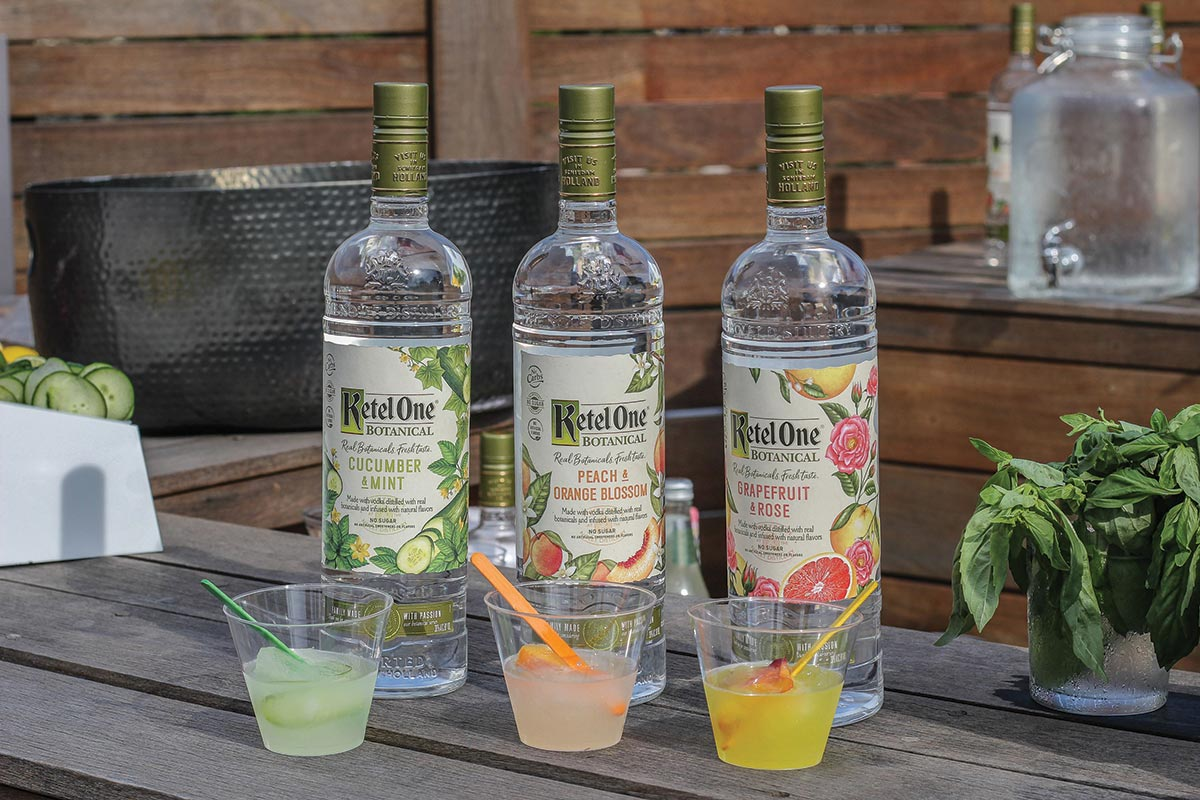 Diageo Hosts Summer Event Featuring Ketel One Botanical
