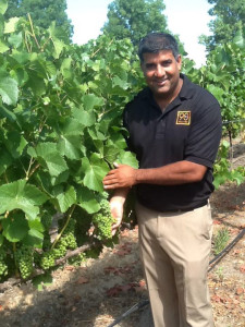 Kevin Mehra, President and Founder of Latitude Beverage and the brand 90+ cellars.