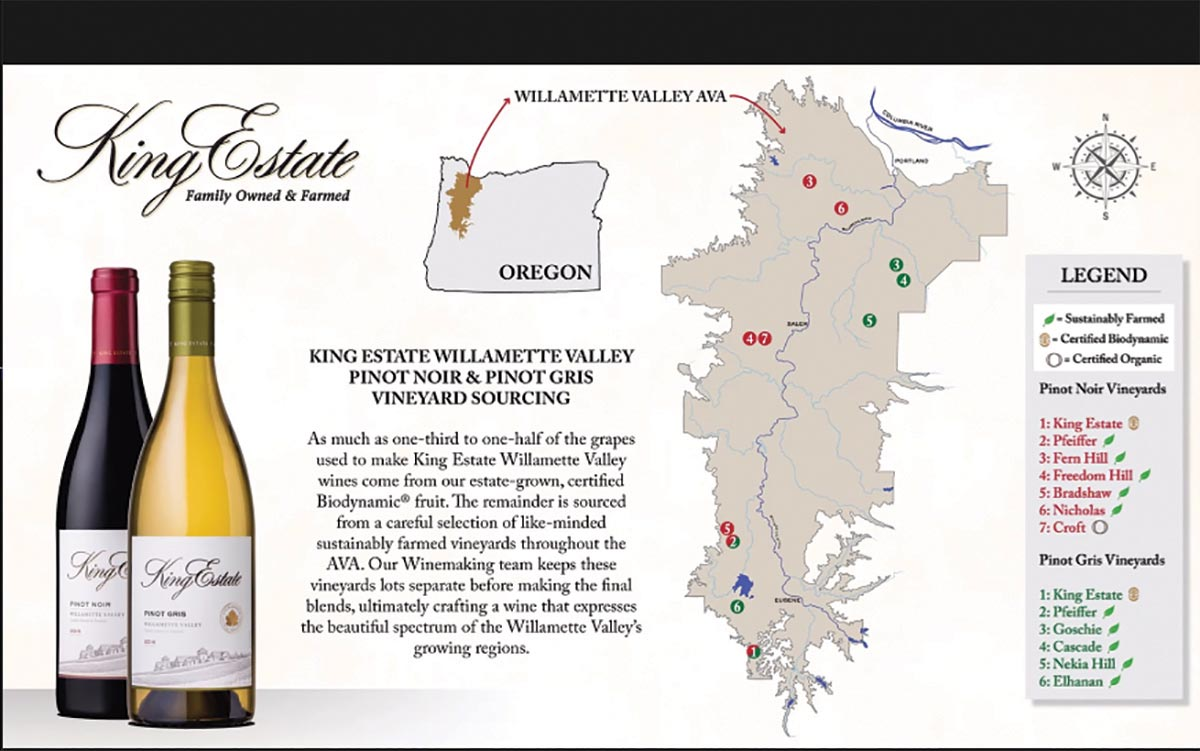 King Estate Virtual Seminar Showcases Oregon Wines