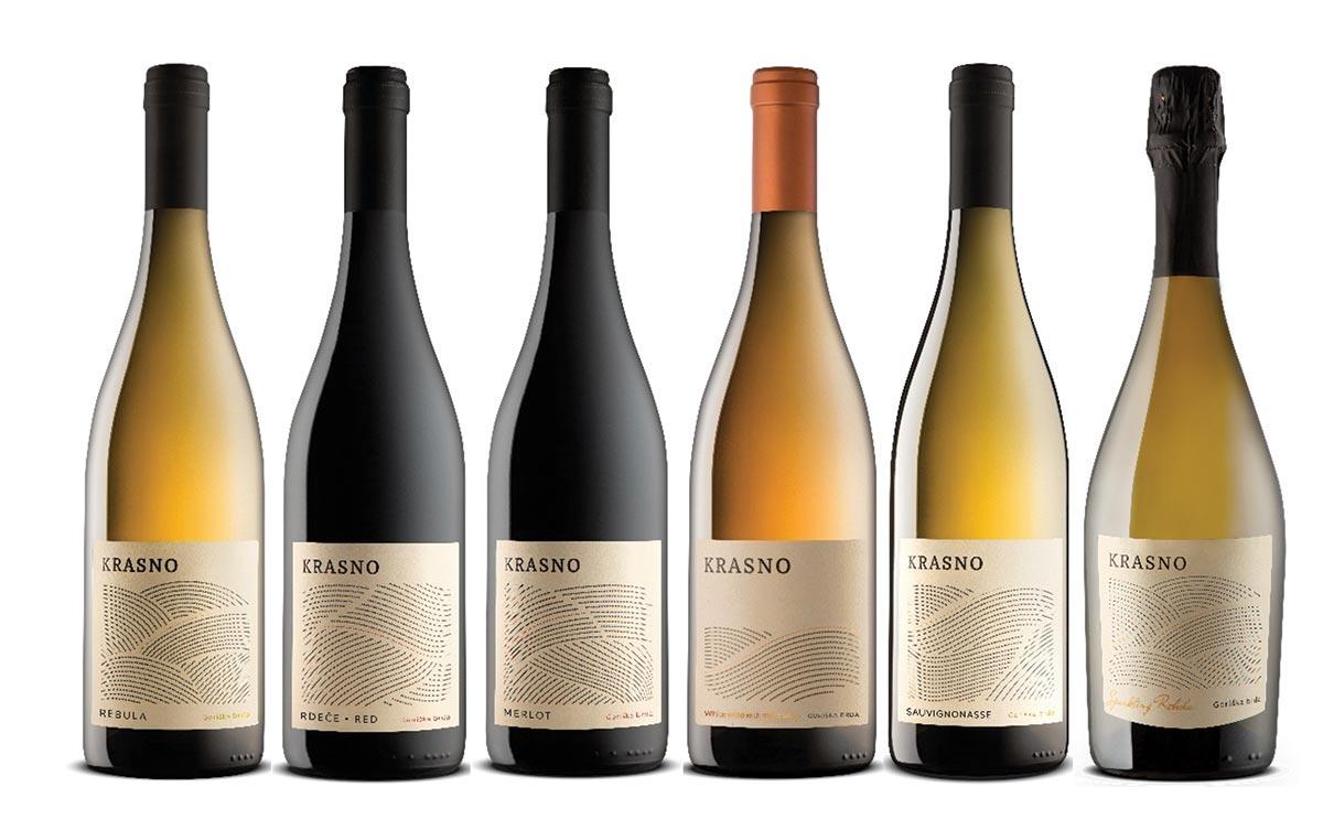 Krasno Slovenian Wine Line Newly Available