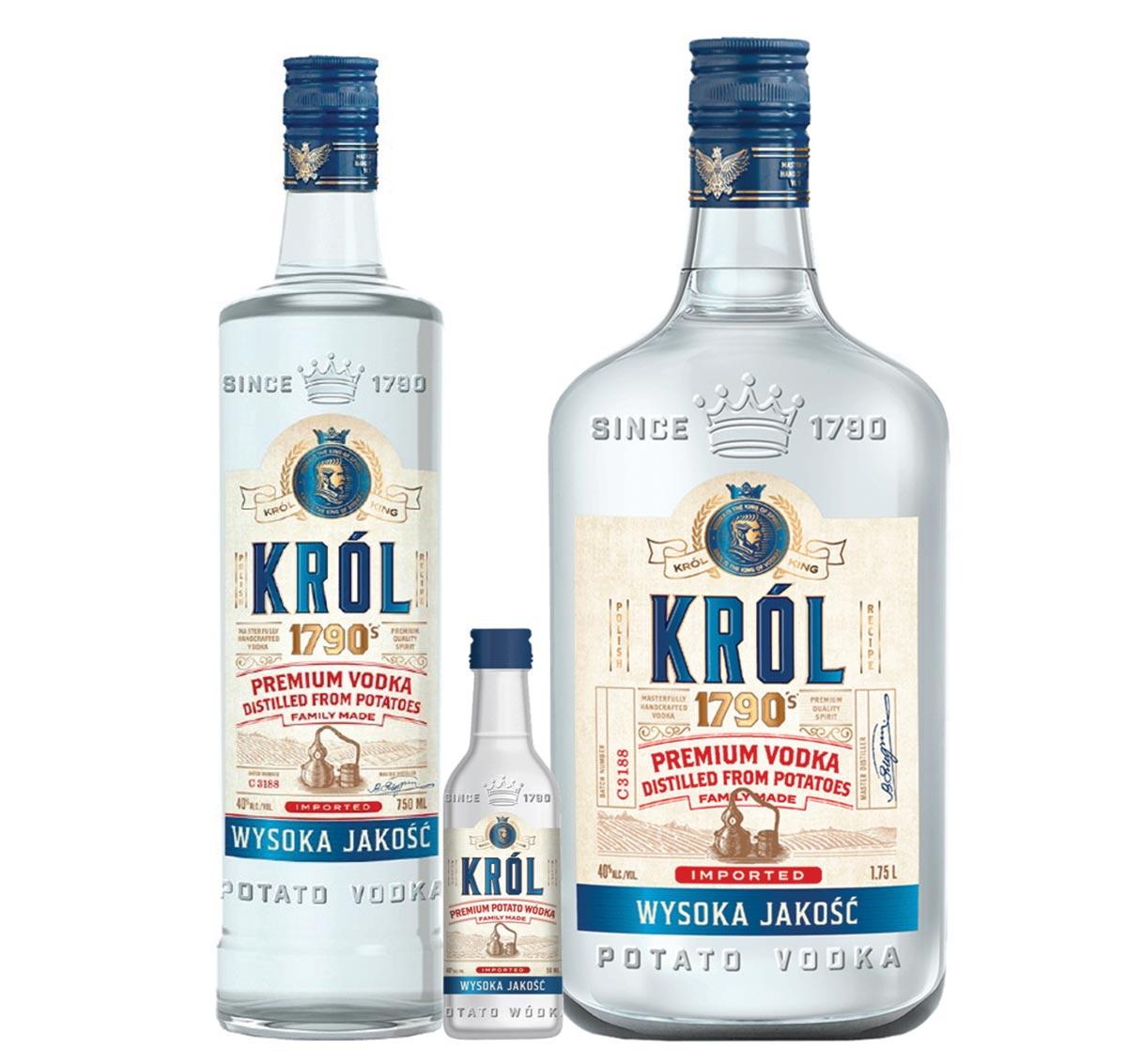 Polish Import Krol Premium Vodka Joins Opici's State Portfolio