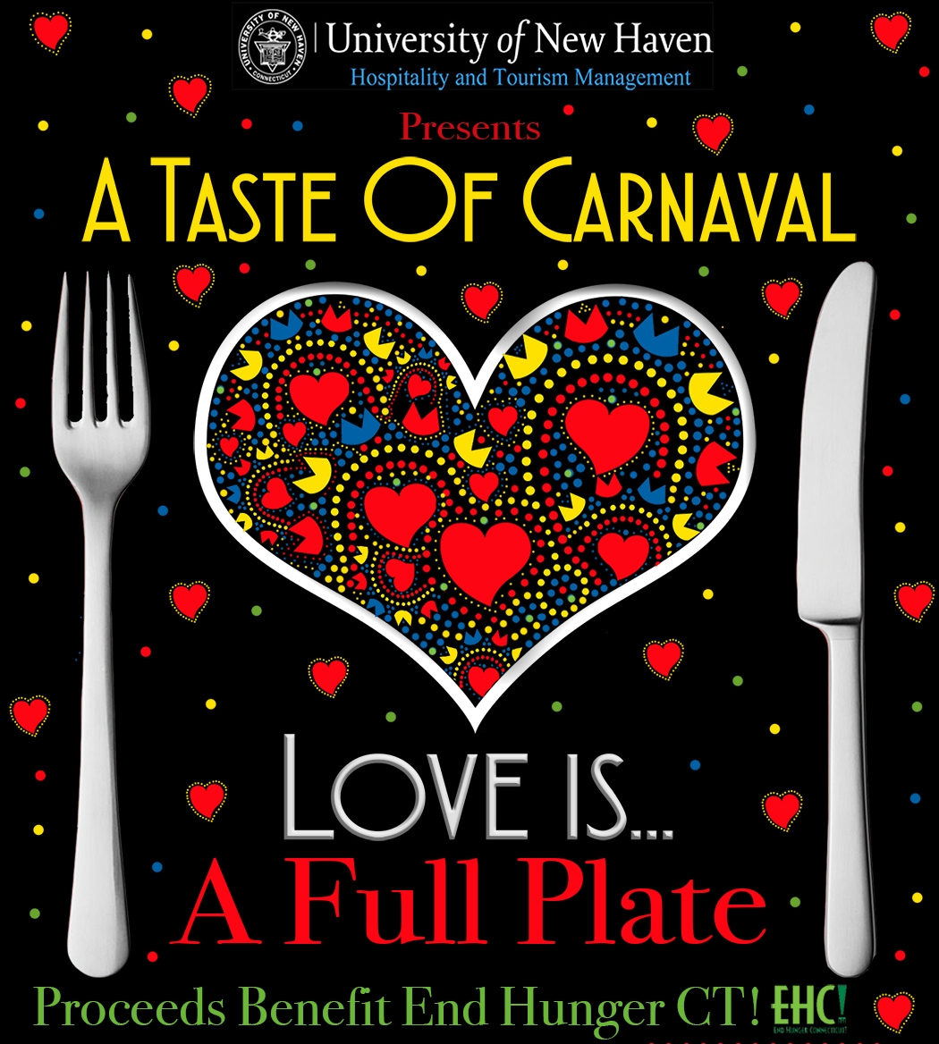 "February 5, 2016: UNH's ""Love is a Full Plate"" End Hunger CT Fundraiser"