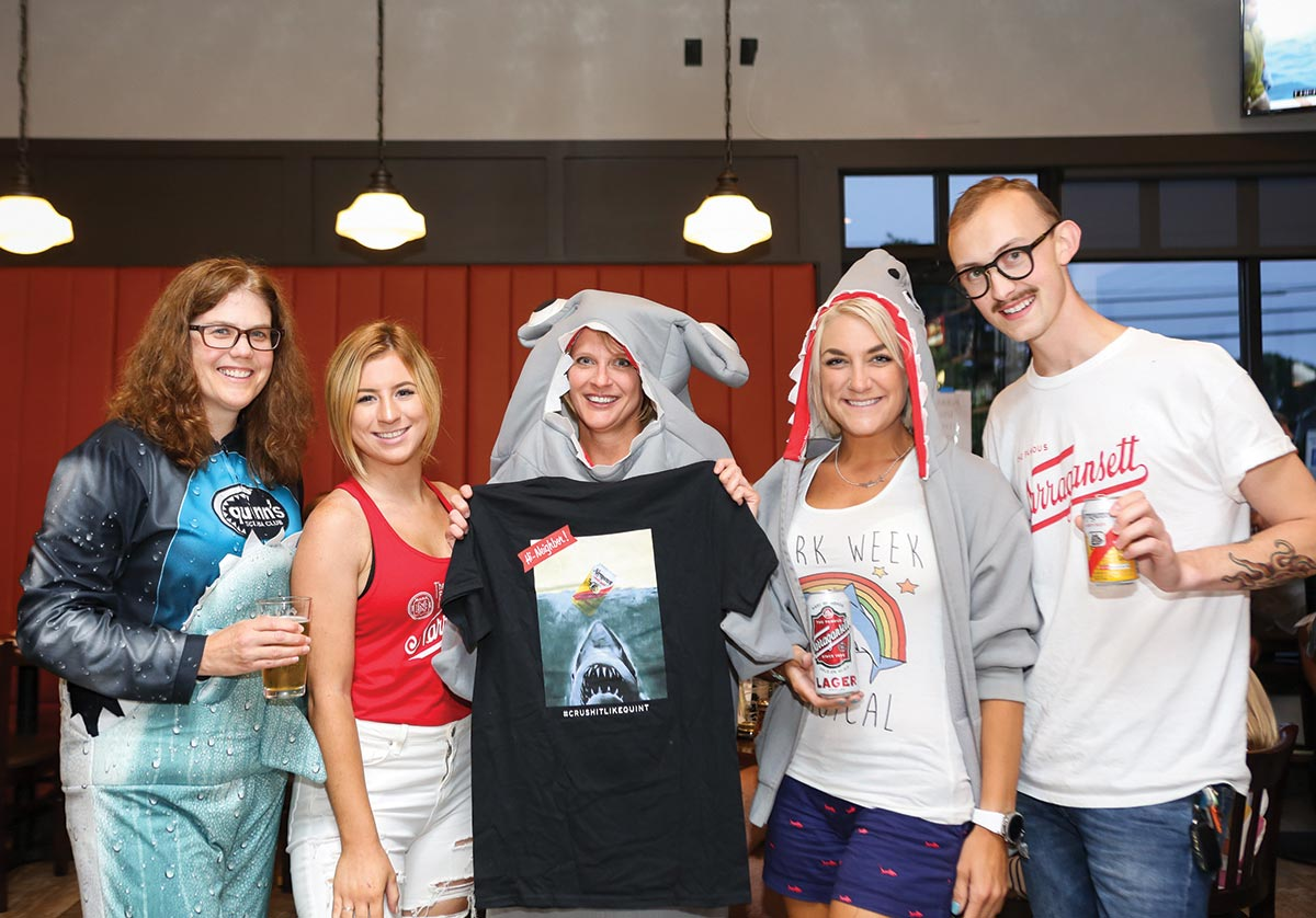 Shark Week Shores Up Local Brand Fans