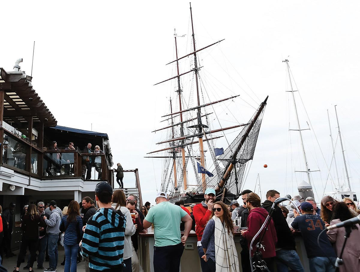 Annual Seafood Festival Features Tall Ship and Fine Sips