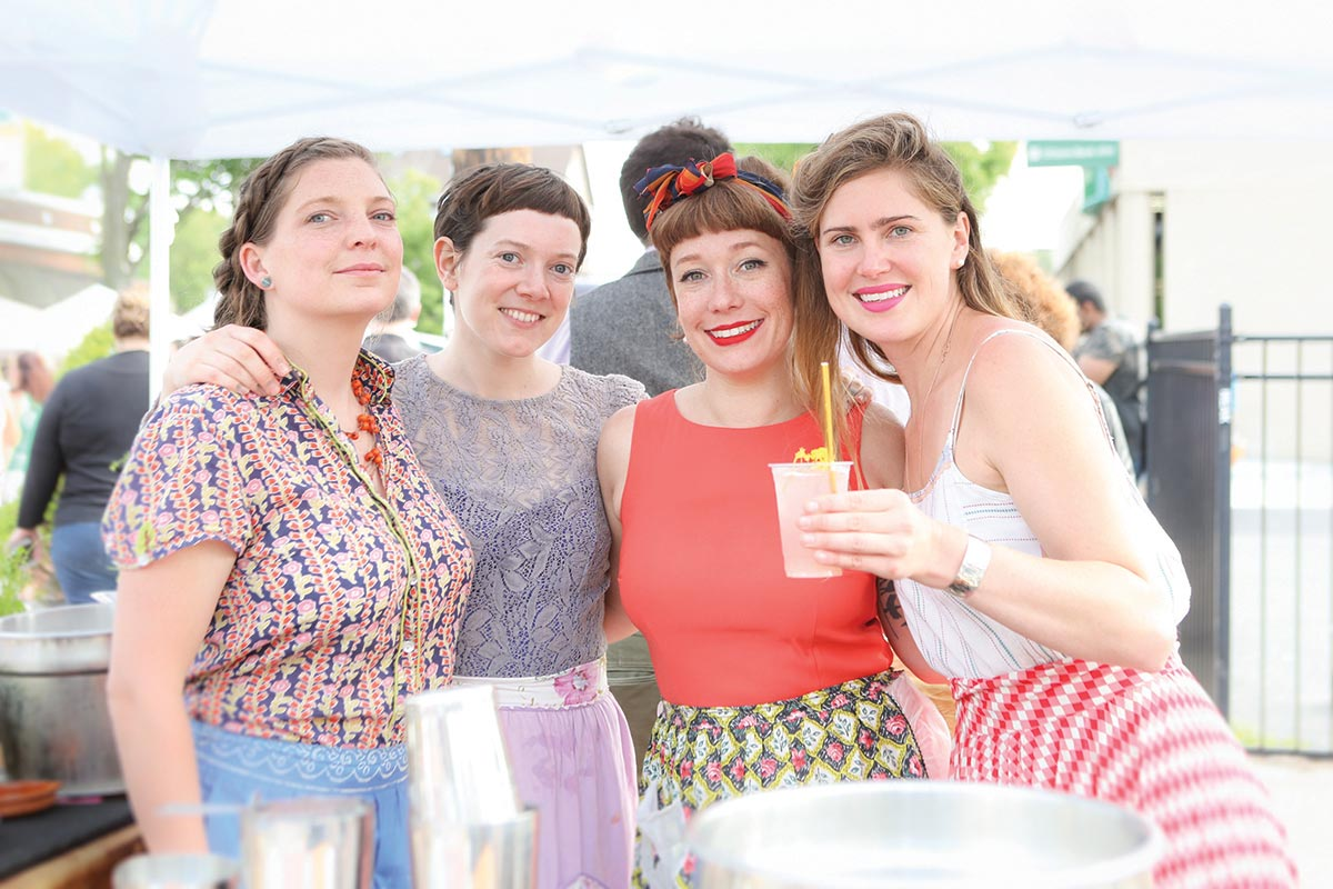 Beverage Tastes Enliven Hope Street Festival