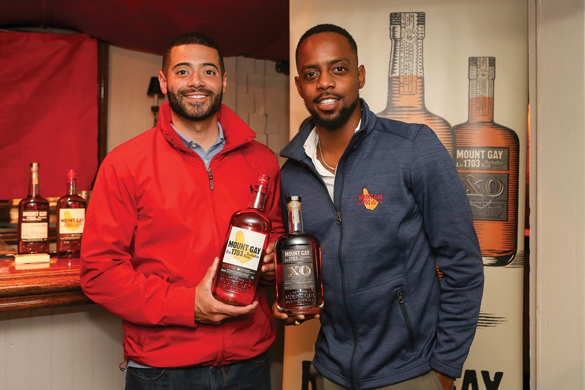 Mount Gay Rum Helms a Brand Night in Newport