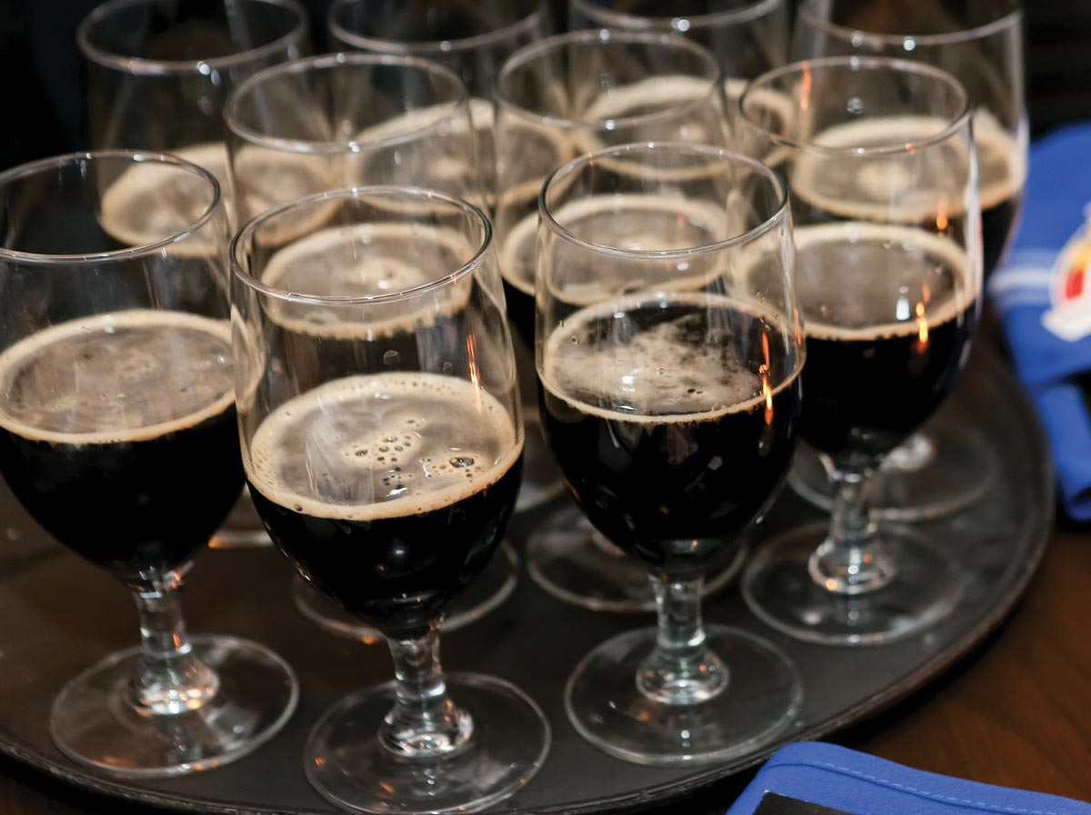 Beer Volumes Found Bright Spots