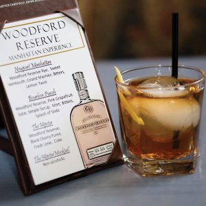 "Six Rhode Island bartenders competed in the Woodford Reserve ""Manhattan Experience"" cocktail competition."