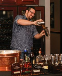 Competitor Anthony Guaetta of the Lighthouse Bar at Twin River.