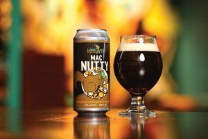 Lough Gill Brewing Co's Mac Nutty Nut Brown Ale.