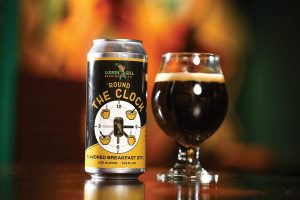 Lough Gill Brewing Co's Round the Clock flavored breakfast stout.