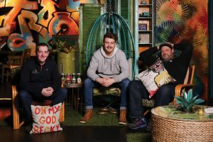 James Ward, Founder, Lough Gill Brewing; Jordan Donnelly, Brewer, Lough Gill Brewing; and Sean Larkin, Founder, Revival Brewing and Co-owner, Troop.