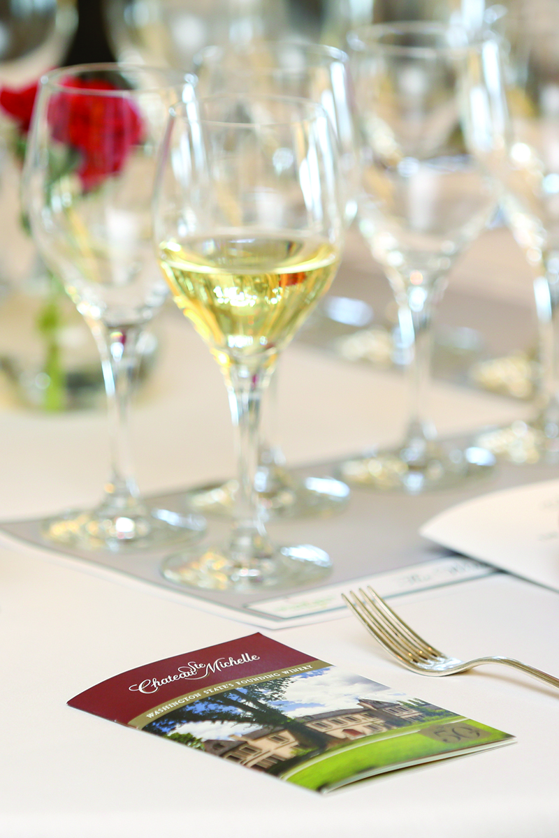 Wines of Chateau Ste. Michelle Highlighted During Luncheon