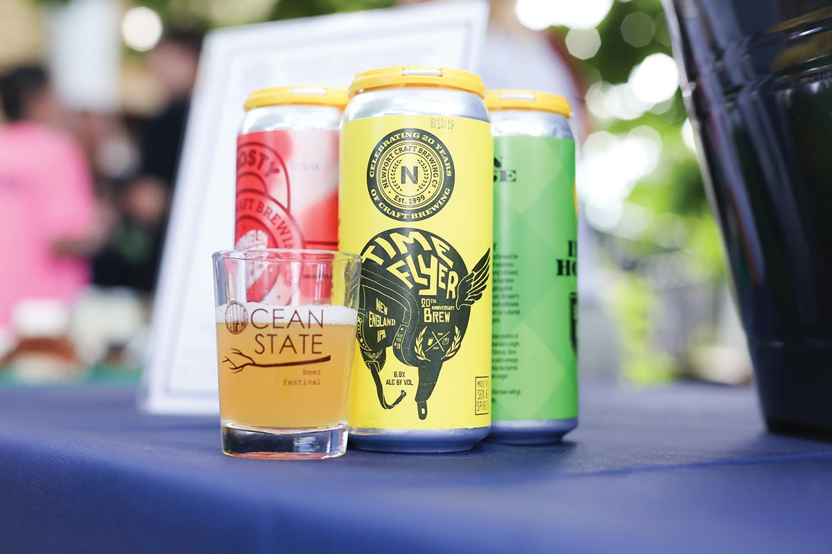 Ocean State Beer Fest Features Home State Brews