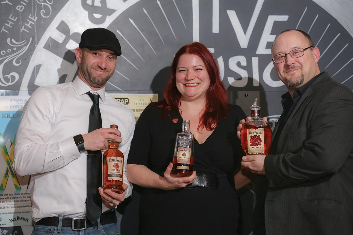 The Trap Hosts Four Roses Bourbon Tasting
