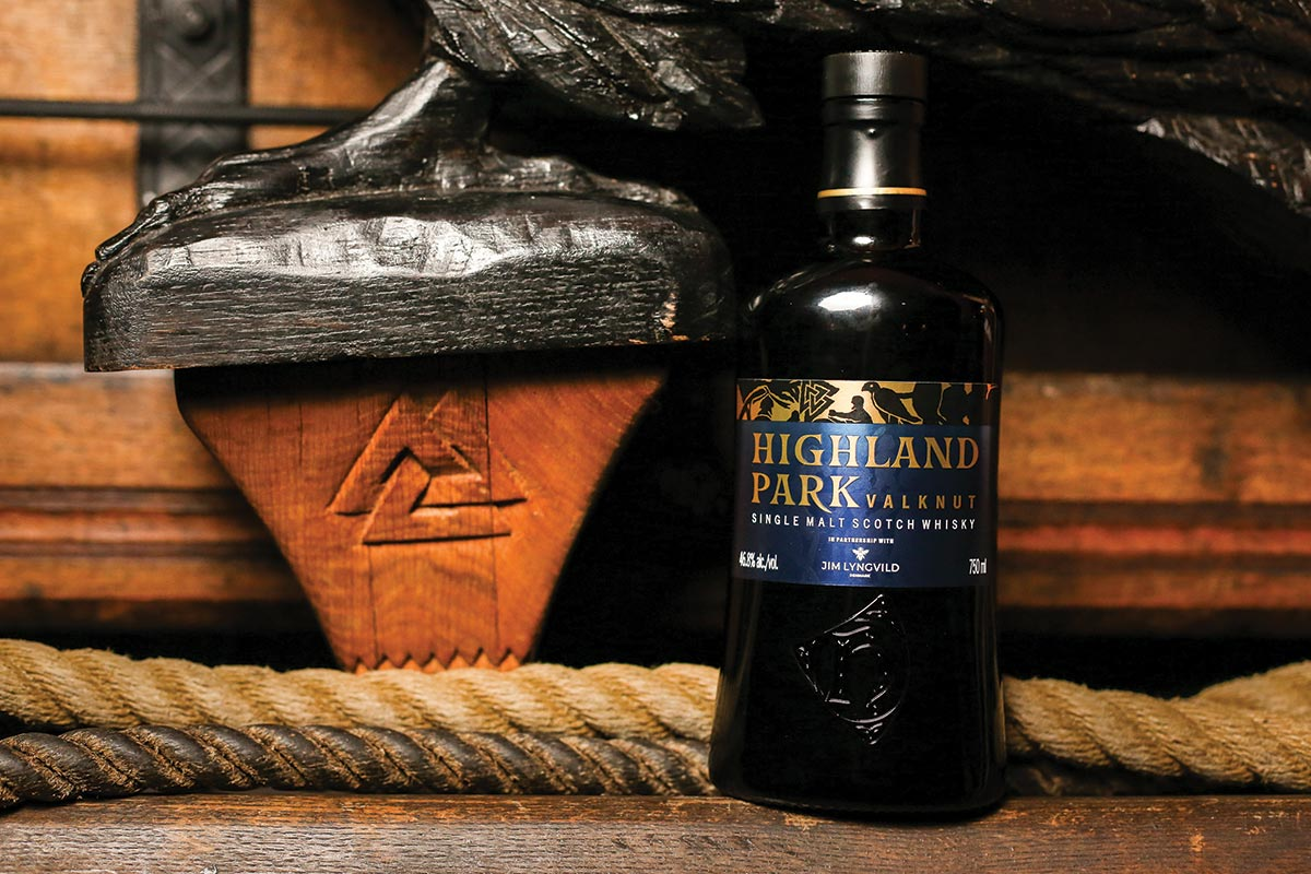 Edrington Features Highland Park Scotch Aboard the Draken