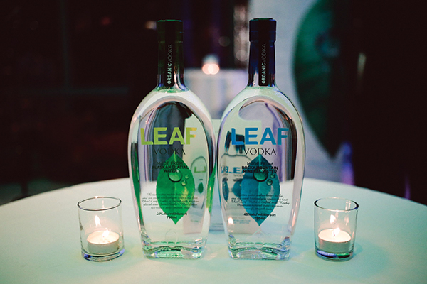 LEAF ORGANIC VODKA U.S. LAUNCH FETED IN NYC