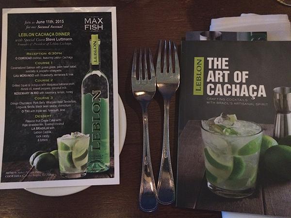 Brazilian-Inspired Dinner Showcases Leblon Cachaça