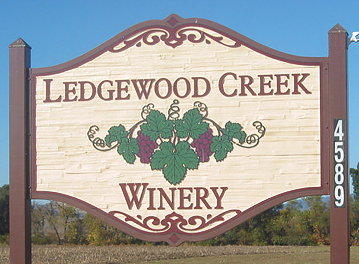 E. & J. GALLO WINERY ACQUIRES LEDGEWOOD CREEK WINERY AND VINEYARD