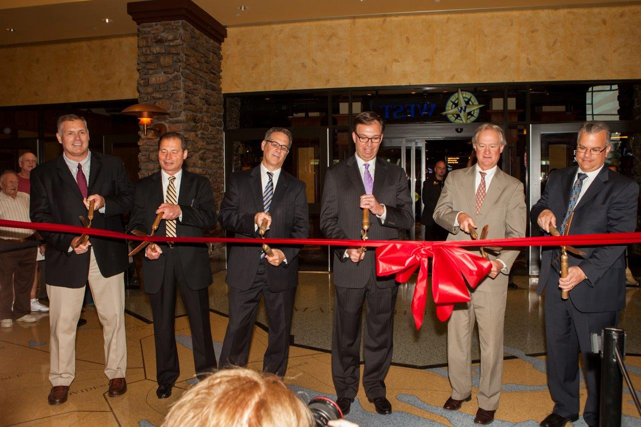 Twin River Casino S Ribbon Cutting For Table Games The