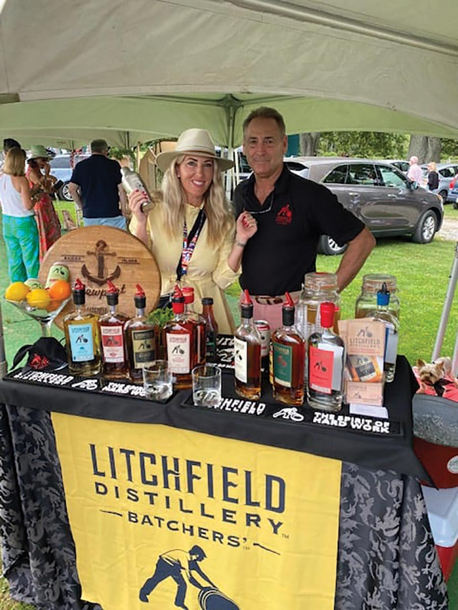 Connecticut's Litchfield Distillery Showcased at Newport Polo