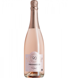 Made from Glera and Pinot Noir grapes, Lot 197 Prosecco Rosé is effervescent and lively