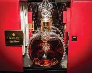 Remy Martin's Louis XIII Cognac.