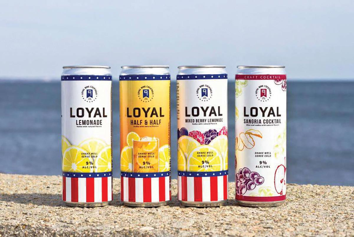 Loyal 9 Cocktails Expands Distribution in New England