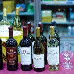 The Ménage a Trois wine lineup.