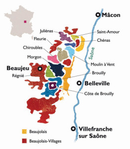 Fleurie, one of the 10 official sub-divisions, or crus, of Beaujolais.