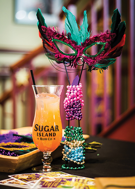 Mardi Gras Bash at Infinity Hall Features Sugar Island Rum