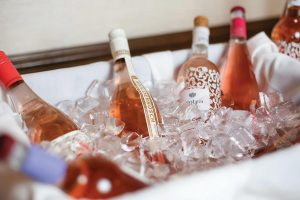 French rosés on ice.