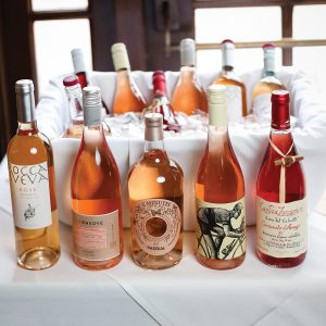 Rosés from Italy and the Burgundy region of France.